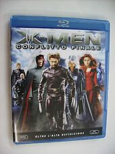 X-MEN CONFLITTO FINALE - BLU RAY 2006 EXCELLENT CONDITION - HUGH JACKMAN