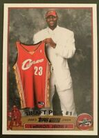 🔥 2003 Topps #221 LeBron James RC Rookie Pack Pulled Beautiful Card 🔥