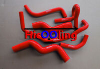 Red Silicone radiator heater hose for Holden Rodeo TF 2.8L Turbo Diesel 90-97