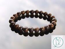 Bronzite Natural Gemstone Bracelet 6-9'' Elasticated Healing Stone Chakra Reiki