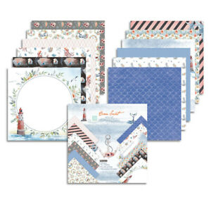 "12X 12"" Xmas Paper Pad Scrapbooking Single-sided Junk Journal Album Card Craft"