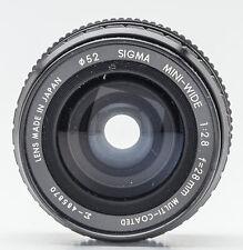 Sigma Mini-Wide 28mm 1:2.8 2.8 Multi-Coated - Nikon - lesen !