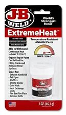 J-B  JB Weld Extreme Heat Temperature Resistant Metallic Paste 1300°C/2400°F 3oz