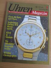 Uhren-Magazin Nr. 9 1993 - Uhren Zeitschrift, Uhrenheft, Magazin