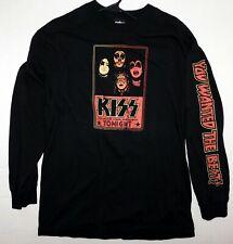 KISS Band 1970's In Concert Tonight Long Sleeve Shirt L Winterland UNWORN 2006