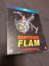"""Intégrale de la série """"Capitaine Flam"""" édition remasterisée en Blu-Ray neuf."""