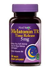 Natrol Melatonin Time Release TR 5mg 100 Tablets