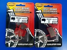 2X Kool Stop - KS-D270 - Avid Juicy BB7 Disc Brake Pads - Organic Compound