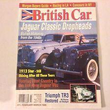 British Car Magazine Jaguar Dropheads 1913 Star February/March 1998 052117nonrh