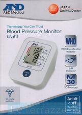 Misuratore di pressione and A&D Medical  sfigmomanometro da braccio UA-611