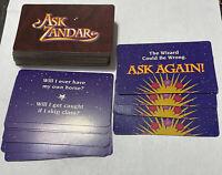 Game Parts Pieces Ask Zandar1992 Milton Bradley 68 Question Cards 4 Ask Again