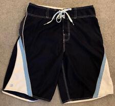 Billabong Men's Size 30 Blue Navy Drawstring Beach Board Shorts Swim Suit