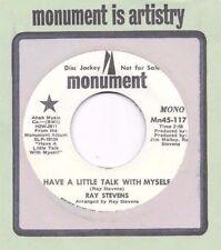 RAY STEVENS * 45 * Talk With Myself * 1970 * NM DJ PROMO * USA ORIGINAL MONUMENT