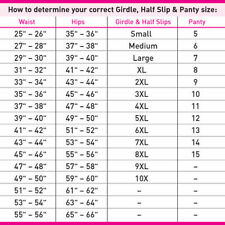 Nancy King Antron III 100% Nylon Adjustable Cut-Ups White Half Slip Size Large