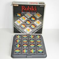 Rubik's MAGIC Strategy Game   RETRO 1980's 1987 Matchbox 16 Tiles & Instructions