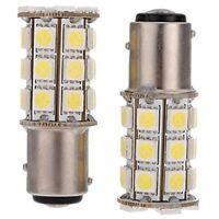 2 x 1157-T25 BAY15D P21/ 5W 27 SMD5050 12V LED feux de freinage Blanc Lumie T3R1