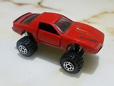 ROAD CHAMPS HIGH MIGHTY 82 FIREBIRD TRANS AM RED OPENING DOORS 4x4 MONSTER RARE