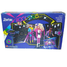 BARBIE MATTEL - Rock Stars - Hot Rockin' Stage Scene MISB NEW Sealed Rockstar