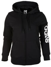 Sweatshirt adidas W E Lin FZ HD Dp2401 M schwarz