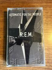 R.E.M. AUTOMATIC FOR THE PEOPLE FACTORY SEALED CASSETTE TAPE LATE NITE BARGAIN!