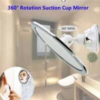 360° Z'Mirror Fogless Suction Cup Shower Shave Make Up Fog Free Mirror ZM01 AU
