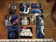 Star Wars Fabric Iron On Appliques style #3 Darth vader Yoda r2d2 c3po Chewie