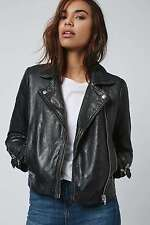 Topshop Leather Biker Jackets for Women