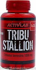 ActivLab Tribulus Terrestris Tribu Stallion 60caps. Booster TST  Free Shipping !