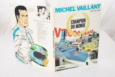MICHEL VAILLANT CHAMPION DU MONDE GRATON BD 1974 E.O SUPERBE