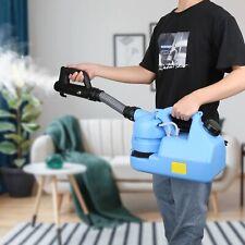 VAT Invoice UK+ULV Cold Fogger Fogging Machine 7L Disinfection Control Sprayer