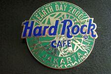 HRC Hard Rock Cafe Jakarta Earth Day 2000 Logo LE500