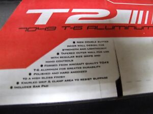 TAG METALS T2-3015-SR HANDLEBARS FOR FOURTRAX