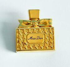 broche CHRISTIAN DIOR en métal doré VINTAGE