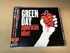 GREEN DAY AMERICAN IDIOT+1 WPCR-11910 JAPAN CD w/OBI 75568