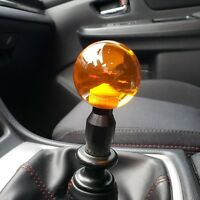 BLACK LIFT UP REVERSE LOCK-OUT SHIFT KNOB ADAPTER FOR MANUAL SHIFTER 12X1.25