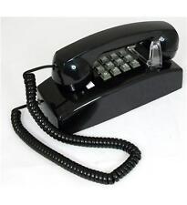 Cortelco 255400-VBA-20MD Traditional Mini-Wall Phone BLACK  ITT-2554-MD-BK