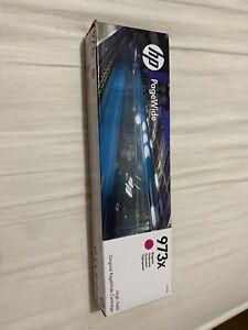 HP 973X Magenta Pagewide Inkjet Cartridge