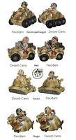 Lustige Spardose Jeep Flieger Panzer Panzerspaehwagen Deko Soldat Fun Division