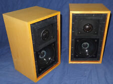 """Rogers LS3/5A 15 Ohm, legendary BBC Monitor speakers """"White Belly"""" - RARE & FINE"""
