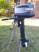 Yamaha 5 PS Langschaft Außenborder 2-Takt  TOP Zustand (Hilfsmotor)