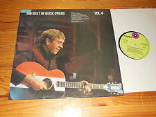 BUCK OWENS - THE BEST OF VOL. 4 / GERMANY-LP