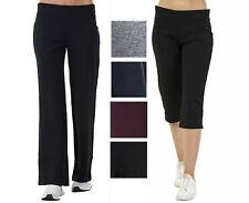 Ex M&S Ladies JOGGERS Jogging Bottoms Womens Cotton Yoga Gym Casual Fitness Size