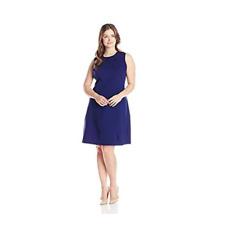 Anne Klein Dress 24W NEW Purple Sleeveless A Line $149