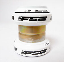 "mr-ride FSA Orbit MX 34mm Threadless Headset 1-1/8"" 28.6mm White-w/o top cap"