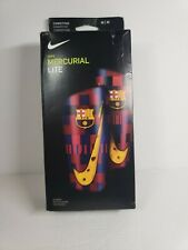 Nike Fc Barcelona Mecurial Lite Shin Guards Competitive Soccer Sp2155-610 Size M
