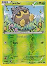 Seedot Common Reverse Holo BreakPoint Pokemon Card 4/122