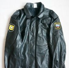 ORIGINAL RUSSIAN POLICE OFFICER JACKET(with liner) size 48-5