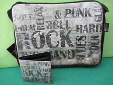 """Sac bandouliére """"Urban Rock"""" et porte feuille"""