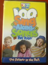 DVD 100 Sing Along Songs for kids The Farmer in the Dell Cedarmont Kids NEW
