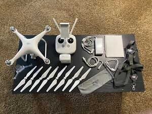 DJI Phantom 4 Pro with Accessories - Barely Used - Quadcopter Camera Drone